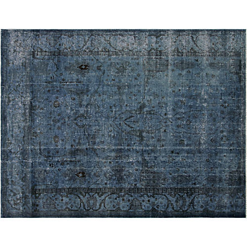 "Persian Overdyed Carpet, 9'10"" x 13'9"""