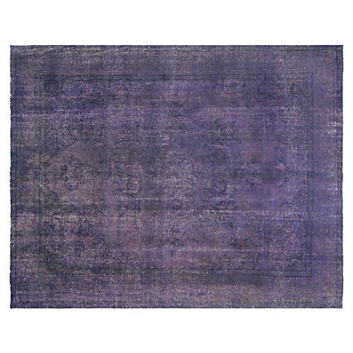 "Persian Overdyed Carpet, 9'10"" x 12'7"""