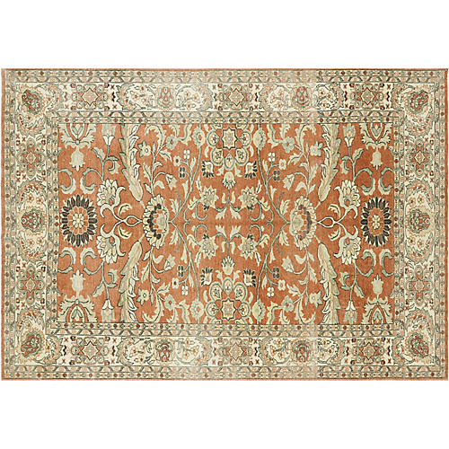 """Sultanabad-Style Rug, 6'2"""" x 8'10"""""""