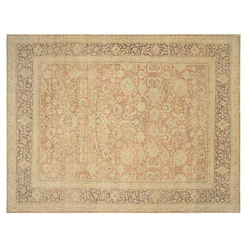 """Sultanabad Turkish Carpet, 10'1"""" x 13'6"""""""