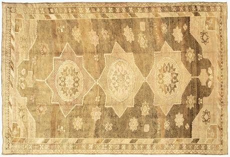 Anatolian Oushak Carpet, 10'5