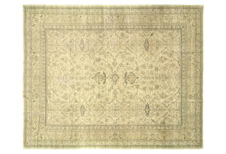 Anatolian Oushak Carpet, 10'2