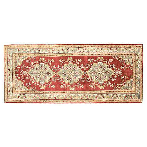 """Anatolian Oushak Rug, 4'9"""" x 11'6"""""""