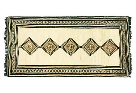 1920s Persian Gabbeh Runn, 3'9
