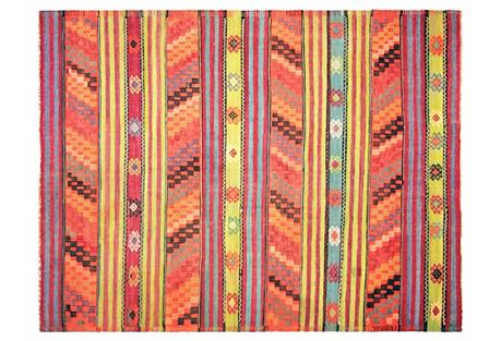 Anatolian Kilim, 5'11