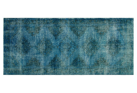 Turkish  Overdyed Rug, 4'7