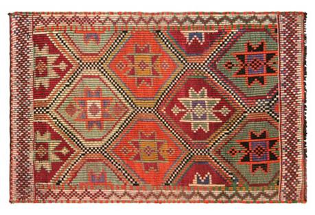 Turkish Cicim Rug, 2'7