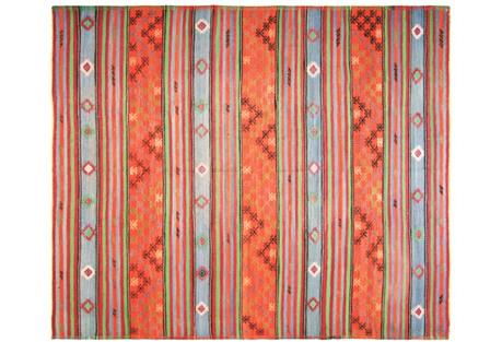 Anatolian Kilim Rug, 6'4