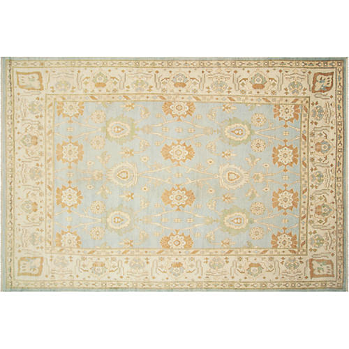 "Anatolian Oushak Carpet, 11'2"" x 16'10"""