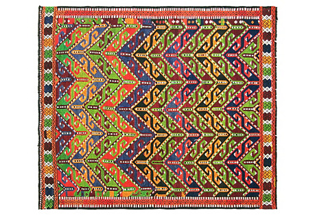Turkish Cicim Rug, 3'9