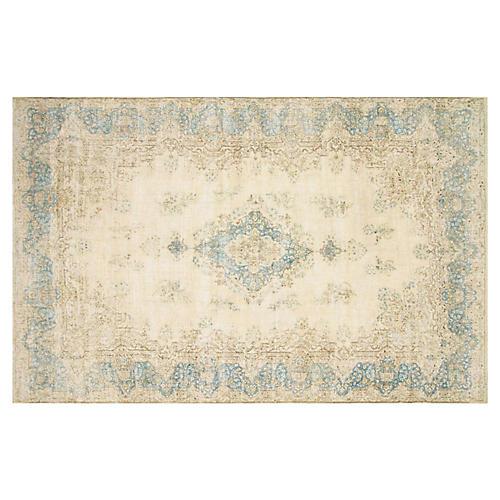 """Persian Distressed Carpet, 9'10"""" x 15'6"""""""