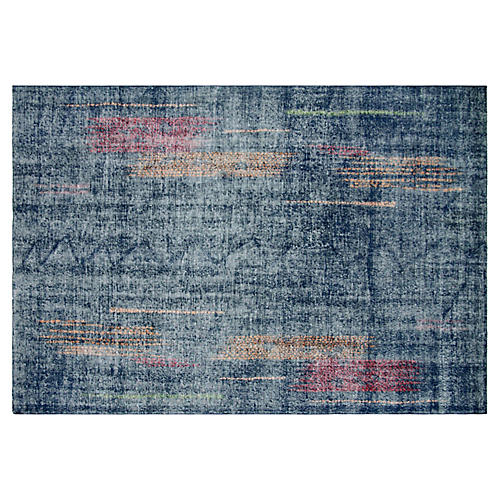 "Art Deco Turkish Rug, 6'7"" x 9'11"""