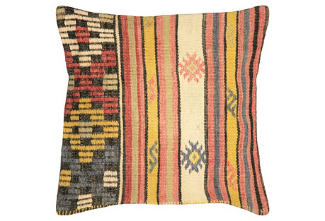 Turkish Kilim Pillow, 17