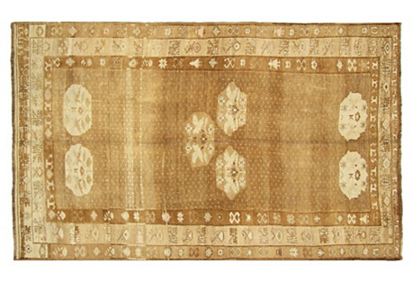 Anatolian Oushak Rug, 6'1