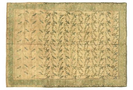Anatolian Oushak Rug, 10'6