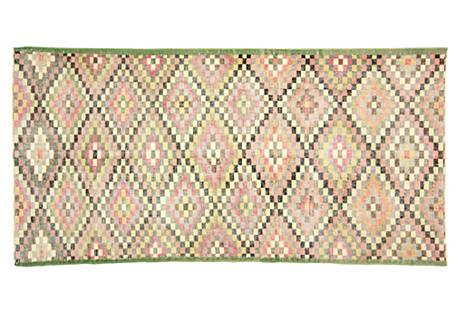 Art Deco Turkish Rug, 6'11