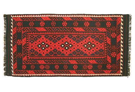 Afghan Kilim, 3'3