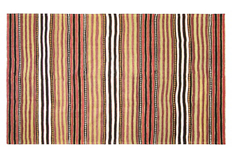 Turkish Kilim, 5'2