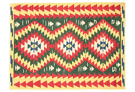 Anatolian Turkish Kilim, 7'8