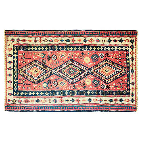 "Antique Caucasian Karabagh, 6'2"" x 10'2"""