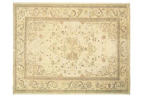 Antique Turkish Oushak, 11'7