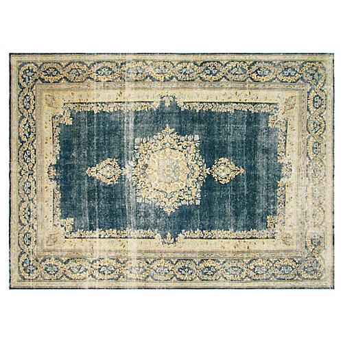 "1940s Persian Kerman Carpet, 8' x 11'4"""