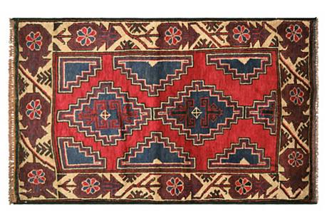 Afghan Balouch Rug, 2'11