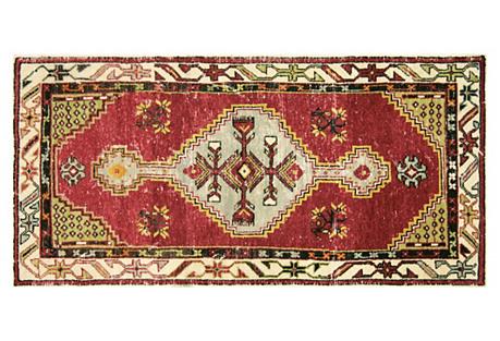 Anatolian Oushak Rug, 2'7
