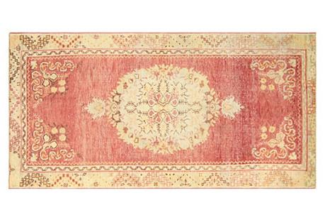 Anatolian Oushak Rug, 3'3