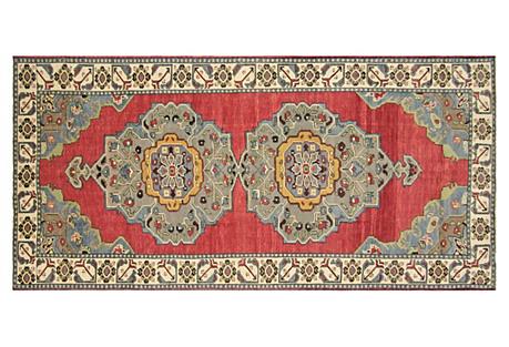 Anatolian Oushak Runner, 5' x 11'1