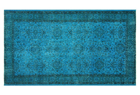 Turkish Overdyed Rug, 3'11