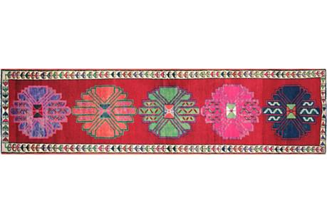 Anatolian Oushak Runner, 2'11
