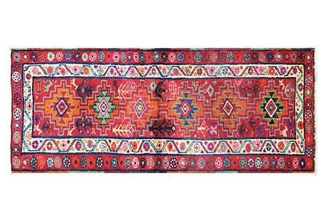 Anatolian Oushak Runner, 2'10