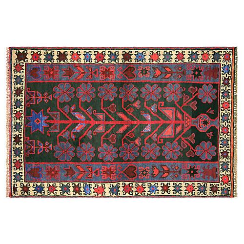 """Afghan Balouch Rug, 2'11"""" x 4'5"""""""