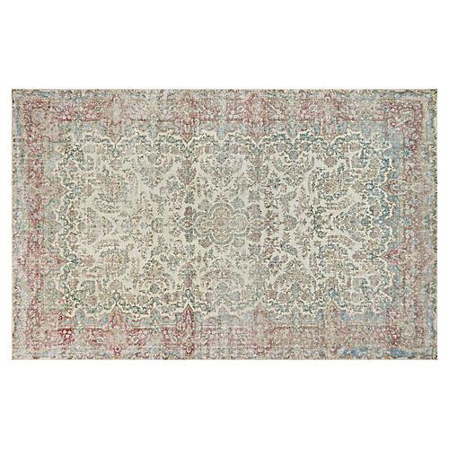 """Persian Distressed Carpet, 10'8"""" x 17'"""