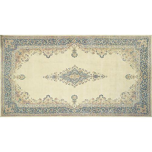 """Persian Distressed Carpet, 11'8"""" x 22'"""
