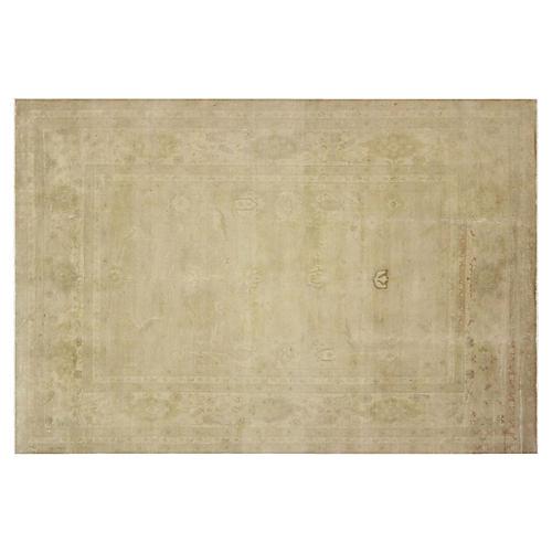 "Tabriz Design Carpet, 9'9"" x 14'2"""