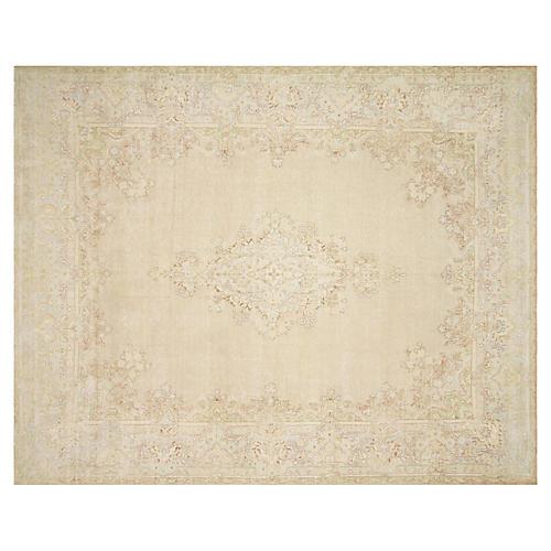 """Persian Kerman Carpet, 8'9"""" x 11'3"""""""