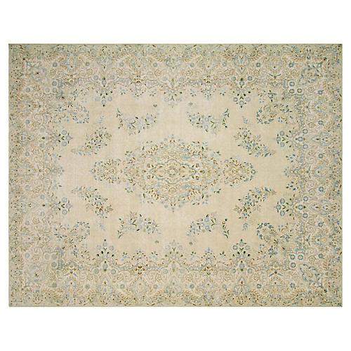 """Persian Kerman Carpet, 8'8"""" x 11'7"""""""