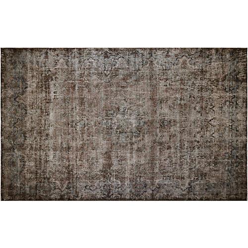 "Persian Overdyed Carpet, 9'9"" x 15'10"""