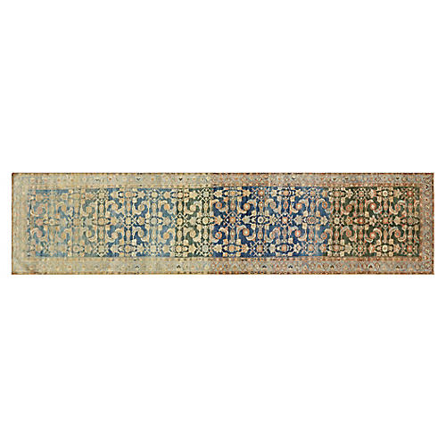 "1920s Persian Malayer Rug, 3'7"" x 15'10"""