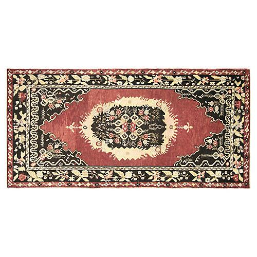 """Anatolian Oushak Rug, 4'7"""" x 8'11"""""""