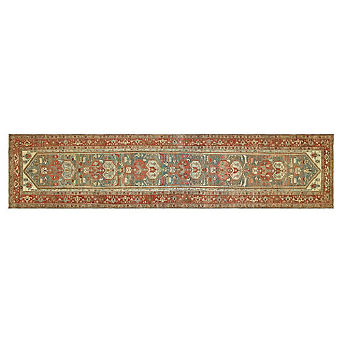 "1920s Persian Melayer Runner, 3'5"" x 16'"