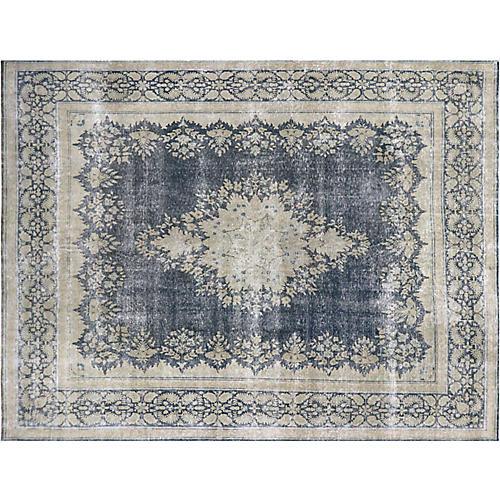 "1940s Persian Kerman Carpet, 9'8"" x12'6"""
