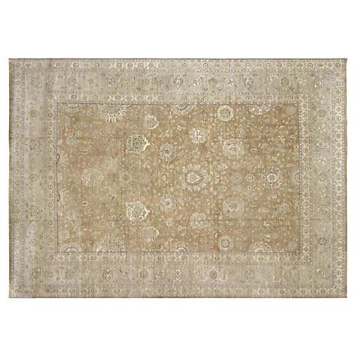 Tabriz-Style Carpet, 8'9'' x 12'5''