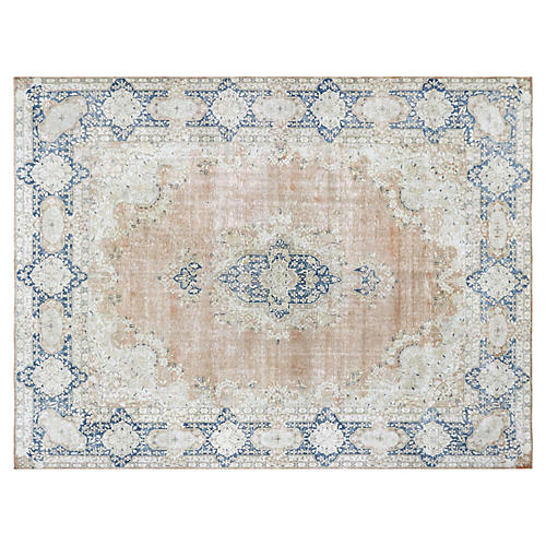 "1940s Persian Kerman Carpet, 9'11"" x 13'"