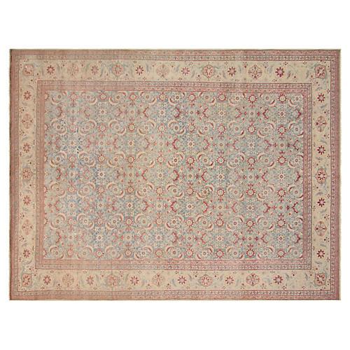 "Antique Persian Tabriz, 8' x 10'11"""