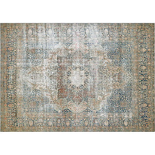 Antique Persian Kerman, 9'8'' x 14'