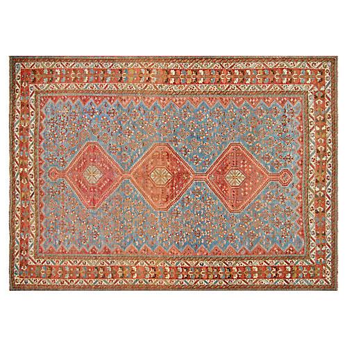 "1960s Persian Shiraz Rug, 7'3"" x 10'4"""
