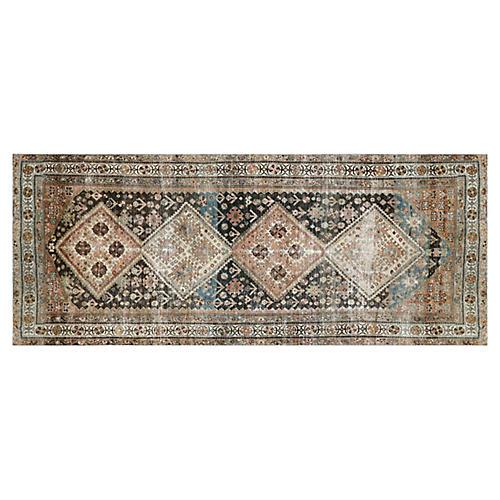 "1920s Persian Malayer Rug, 4'6"" x 10'11"""